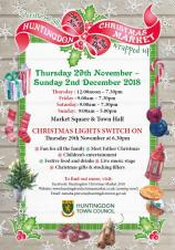Huntingdon Christmas Light Switch on