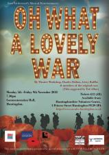 Production of Oh What a Lovely War!
