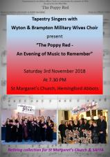 The Poppy Red - An Evening of Music to Remember