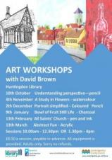 All Saints Church | Art Workshops with David Brown