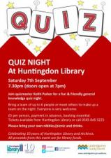 Huntingdon Library | Quiz Night