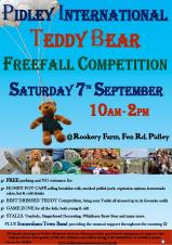 Pidley International Teddy Bear Freefall Competition