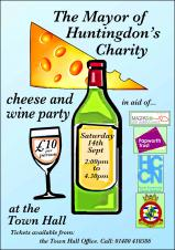 Mayor of Huntingdon's Cheese and Wine Party