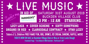 Buckden's Summer Fundraiser for Parkinson's UK