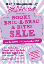 Books, Bric-a-brac and Bites Sale