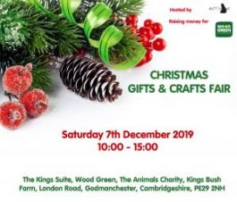 Wood Green Animal Shelter | Christmas Gifts & Crafts Fair