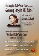 Huntingdon Male Voice Choir | Evening Song in All Saints'