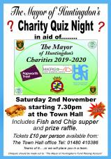 The Mayor of Huntingdon's Charity Quiz Night