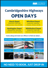 Cambridgeshire Highways Open Day