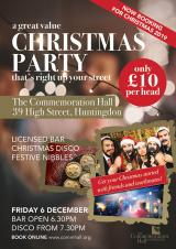 Commemoration Hall | Christmas Party