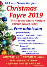 All Saints' Church Hartford | Christmas Fayre
