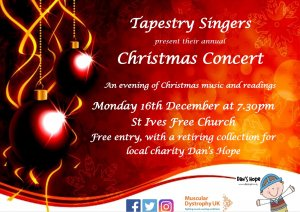 Tapestry Singers Christmas Concert