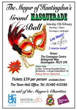 The Mayor of Huntingdon's Grand Masquerade Ball