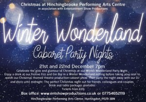 Hinchingbrooke Performing Arts Centre | Winter Wonderland Party Night