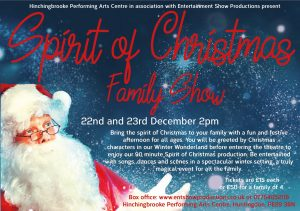 Hinchingbrooke Performing Arts Centre | Spirit of Christmas Family Show