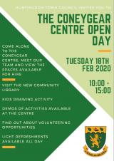 Coneygear Centre Open Day