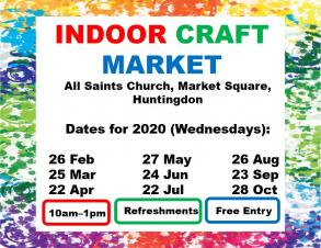 All Saints Church | Indoor Craft Market