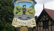 Huntingdon's Town Sign