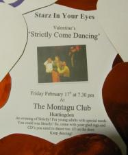 'Starz in Your Eyes' Valentine Strictly Come Dancing